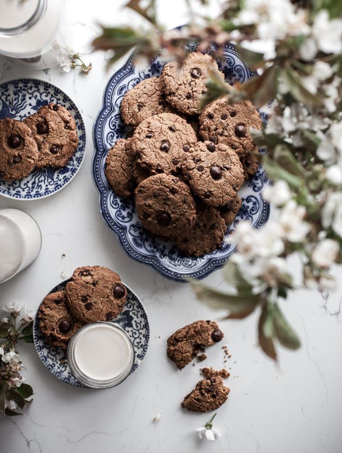 Almond Milk Chocolate Chip Cookies
