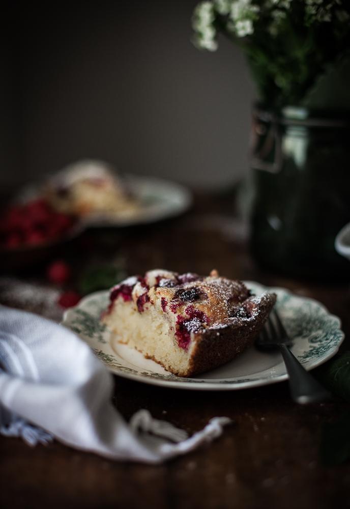 Raspberry Ricotta Almond Cake The Kitchen Mccabe