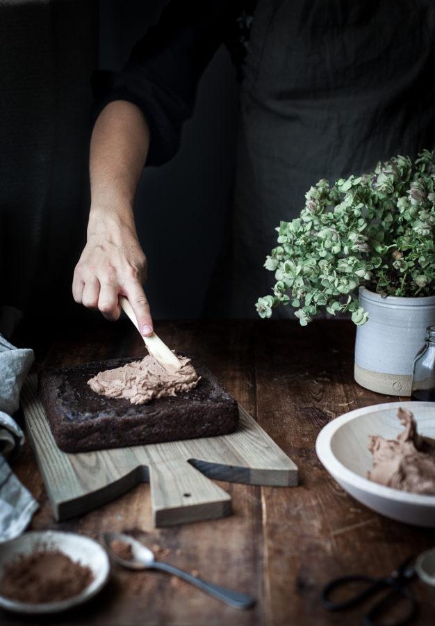 One-bowl Chocolate Zucchini Sheet Cake