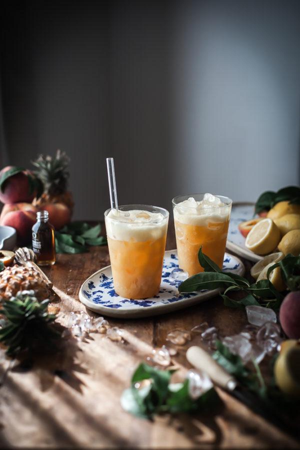 Whole Fruit Pineapple Peach Lemonade