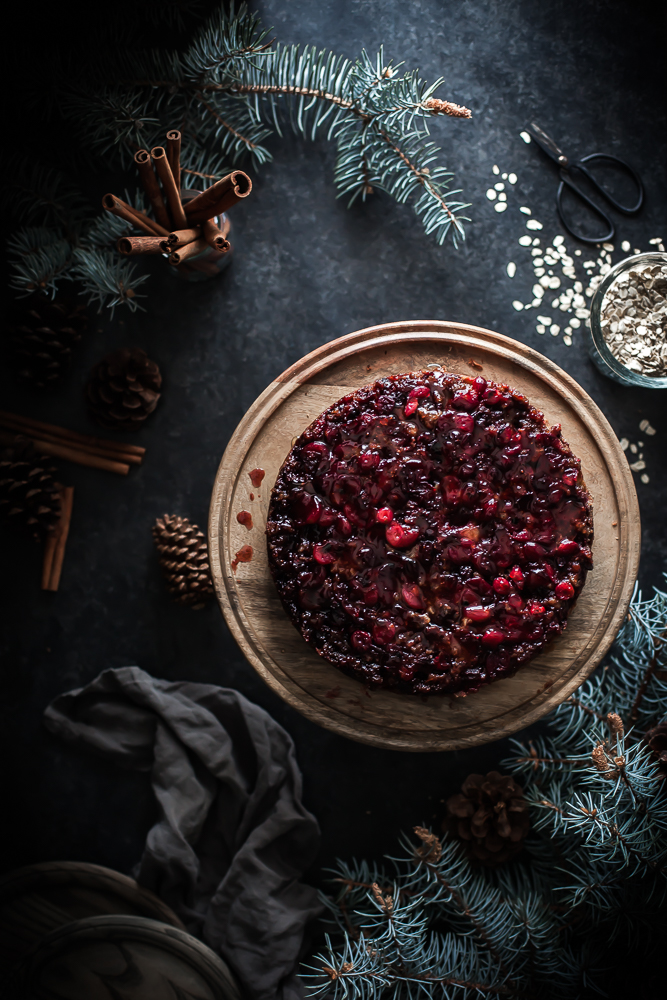 Food Cranberry Upside Down Cake