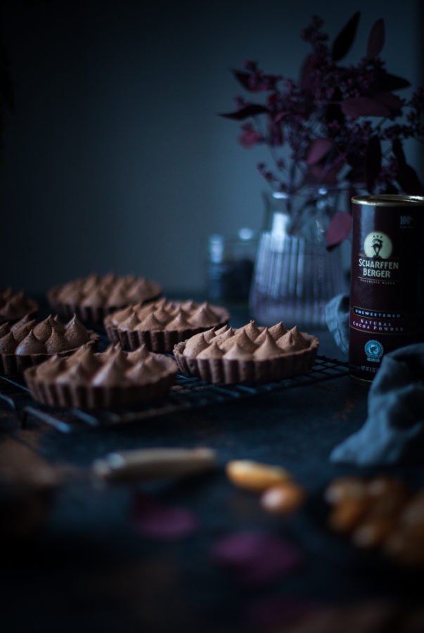 Earl Grey Chocolate Mousse Tartlets