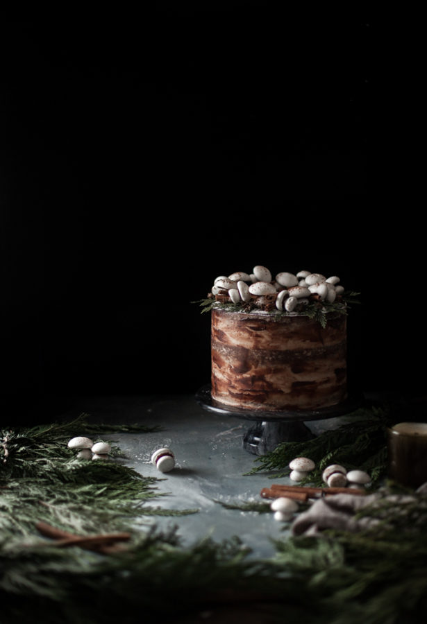 Spiced Hot Chocolate Layer Cake