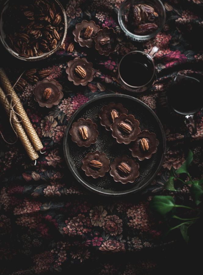 Chocolate Pecan Super Food Cups