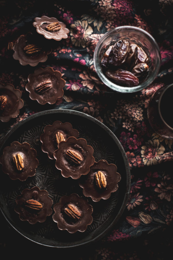 Chocolate Pecan Super Food Cups