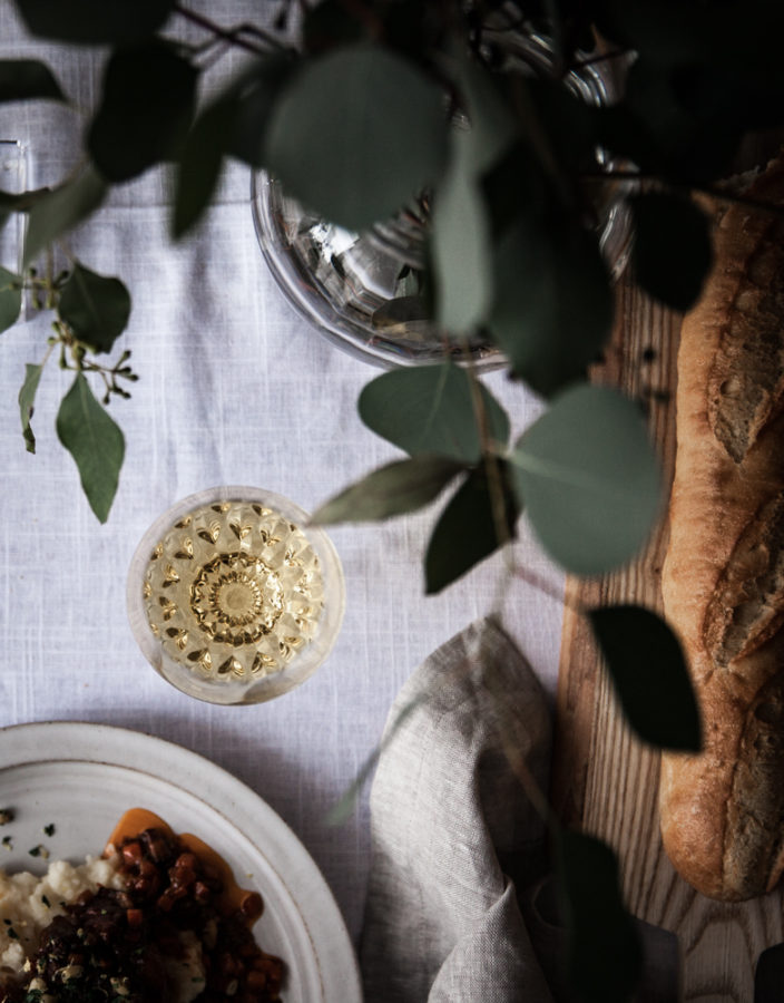 A Winter Table for Sharing + A Recipe for Osso Bucco