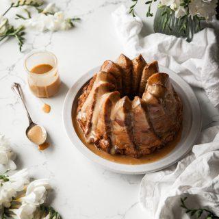 Carrot & Cajeta Bread Pudding