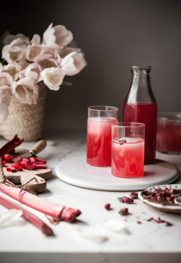 Rhubarb Rose Infusion