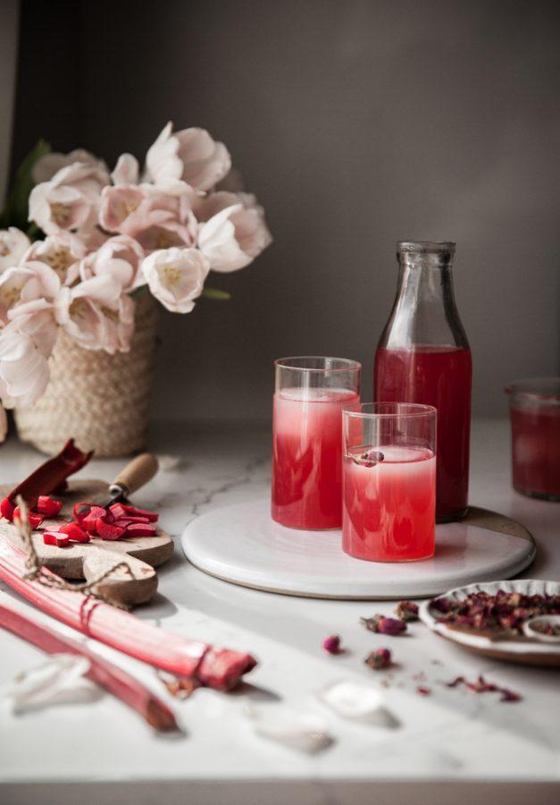 Rhubarb Rose Infusion