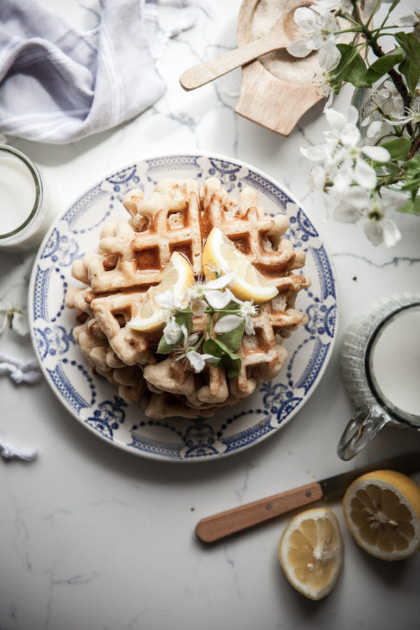 Sourdough Belgian Waffles
