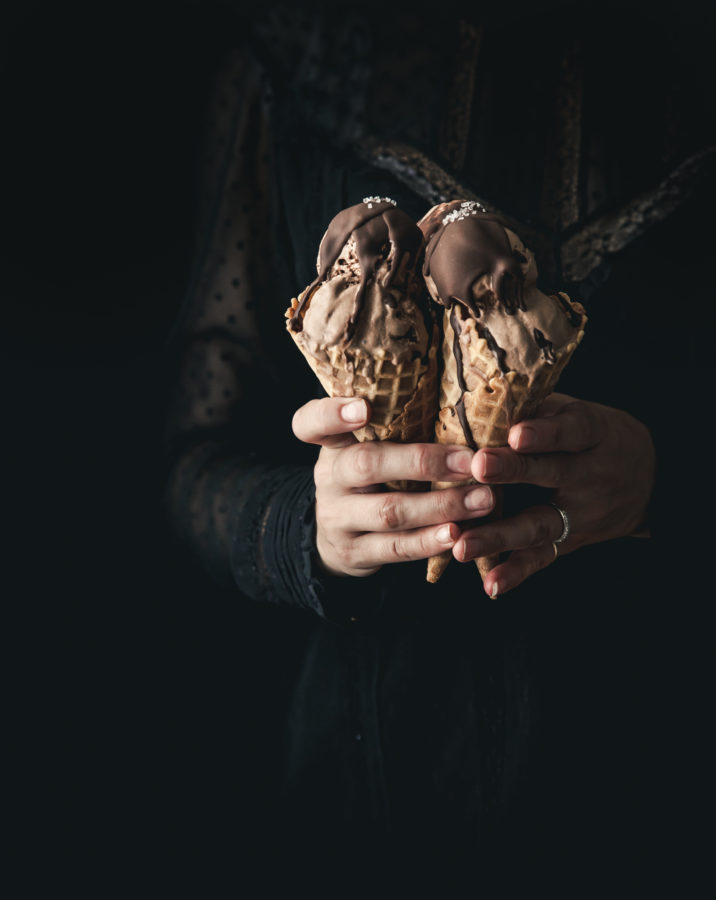 From-Scratch Coconut Milk Chocolate Ice Cream