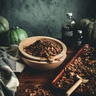 Maple Spiced Pumpkin Seed Granola
