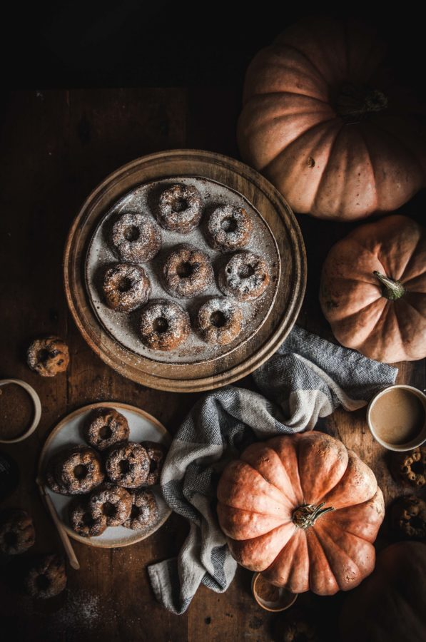 Pumpkin Chocolate Chip Mini Cakes (gluten free)
