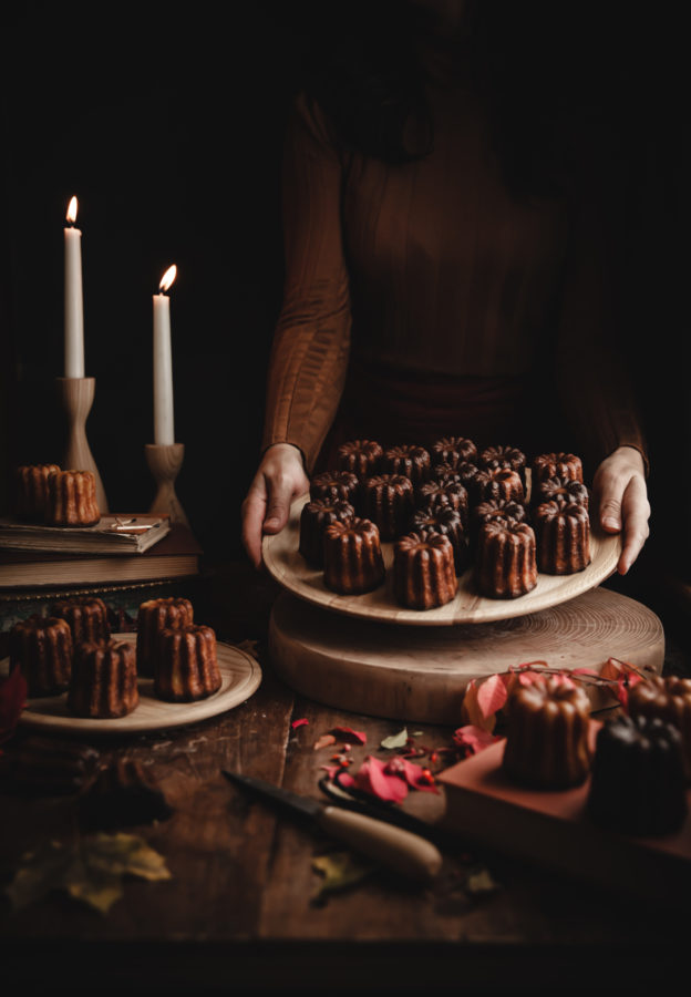Caneles de Bordeaux (French Custard Rum Cakes)