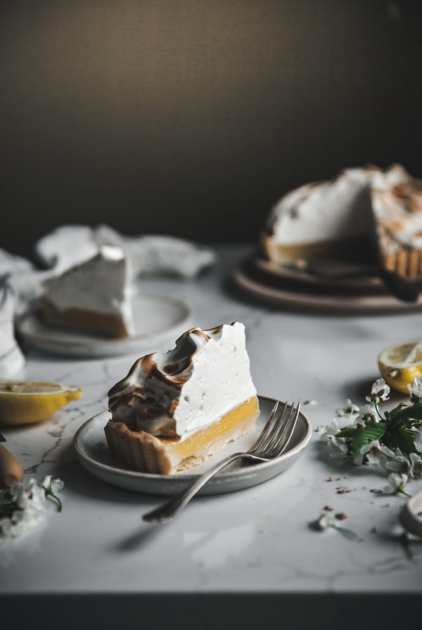 Mile High Meringue & Lemon Tart