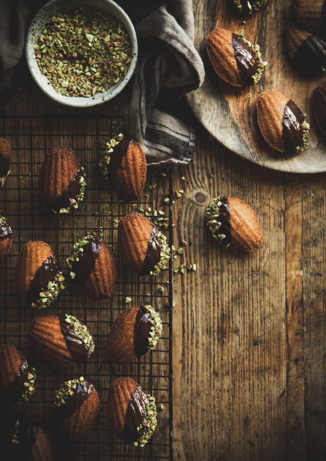 Browned Butter Vanilla Bean Madeleines