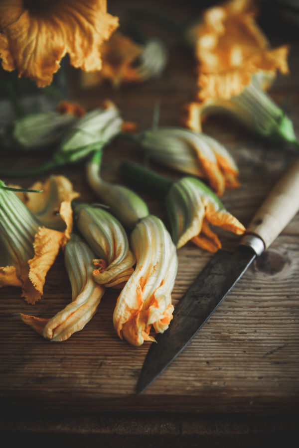 Zucchini Blossom Fritters