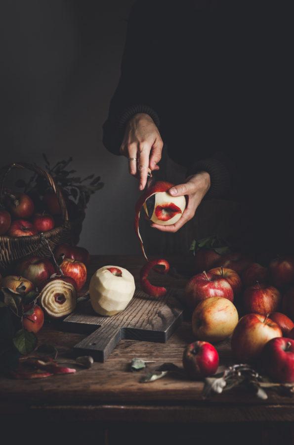 Apple Pie + Pecans & Bourbon Caramel
