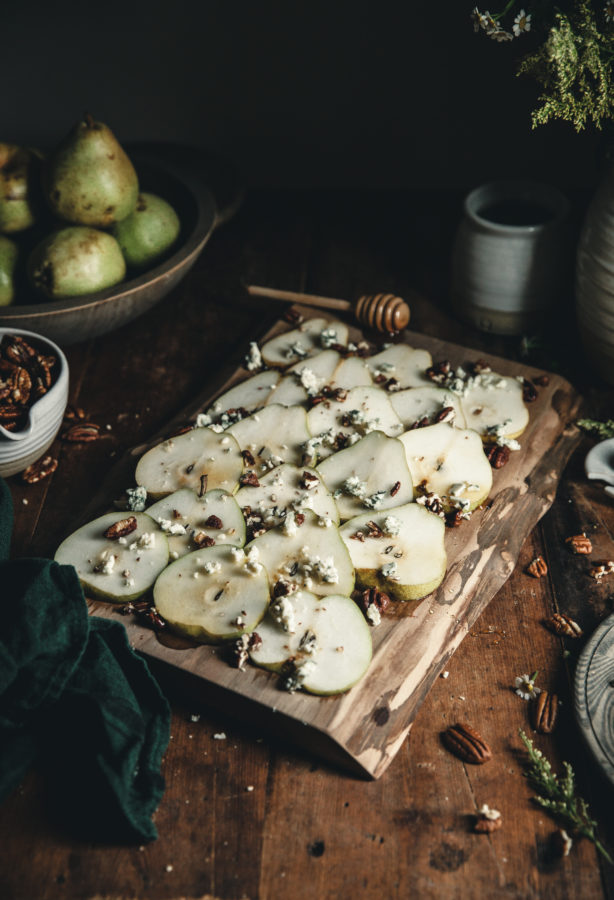 Pear & Gorgonzola Salad