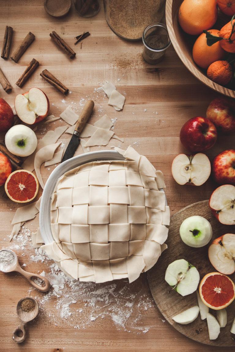 Winter's Apple Pie