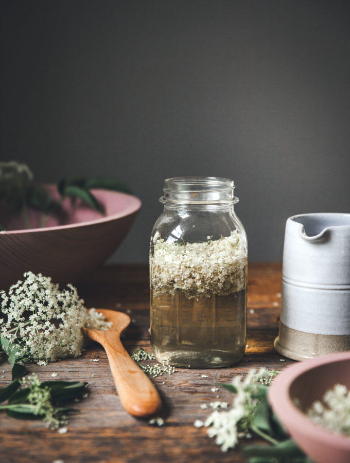 Elderflower Simple Syrup